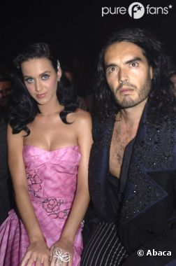 Katy Perry et son ex mari Russell Brand
