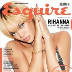 Rihanna en mode exhib' : topless pour le magazine Esquire ! (PHOTO)