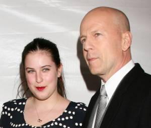 Scout Willis et son père Bruce Willis