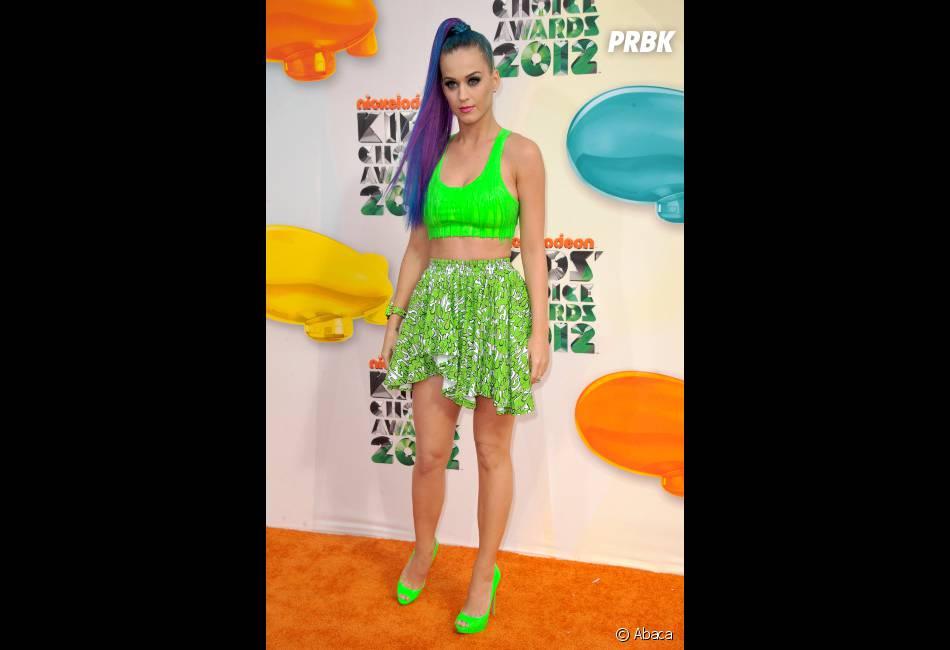 Katy Perry en mode total fluo