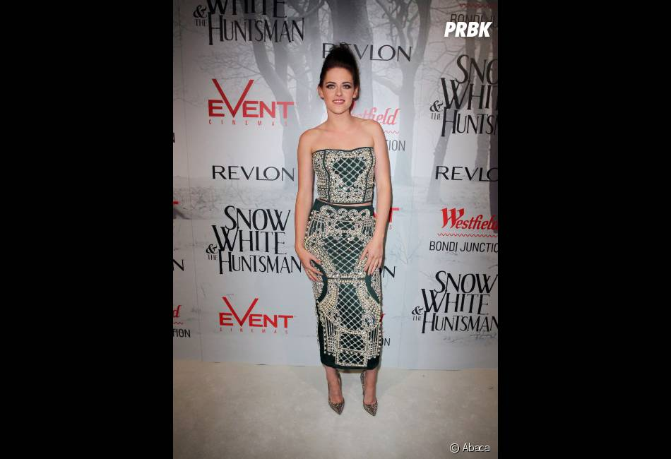 "Kristen Stewart, une robe ""tapis"" en Australie"