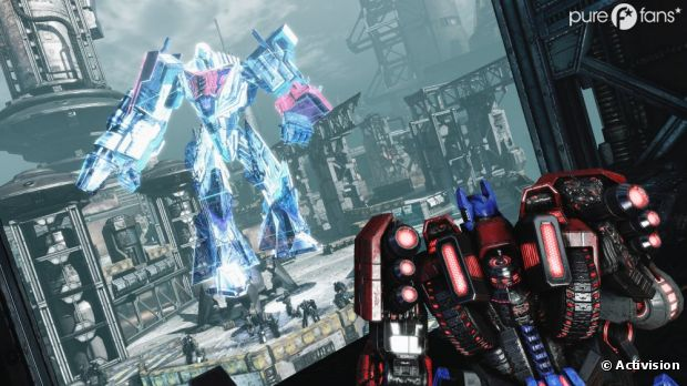 Découvrez le nouveau jeu Transformers La Chute Des Cybertrons