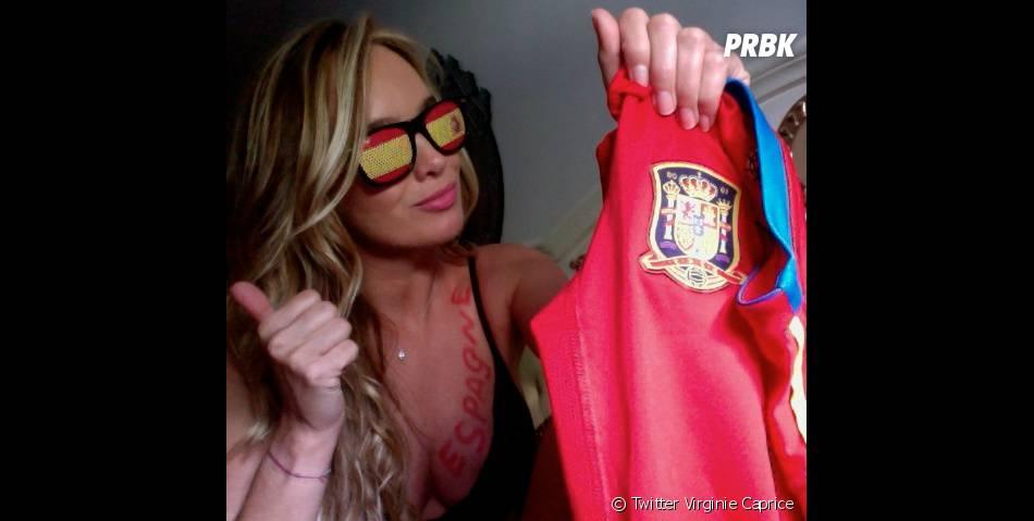 Virginie Caprice prédit que l'Espagne va gagner !