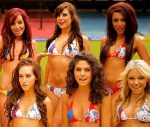 Les cheerleaders de Crystal Palace revisitent Call Me Maybe