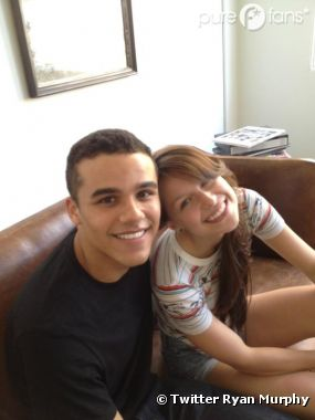 Les deux nouveaux acteurs de Glee Jacob Artist et Melissa Benoist
