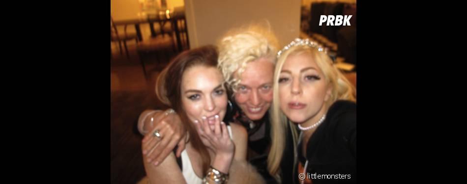 Lady Gaga et Lindsay bientôt réunies dans un clip