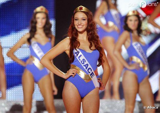Delphine Wespiser devrait être Wonder Woman pour décrocher l'écharpe de Miss Monde 2012 !