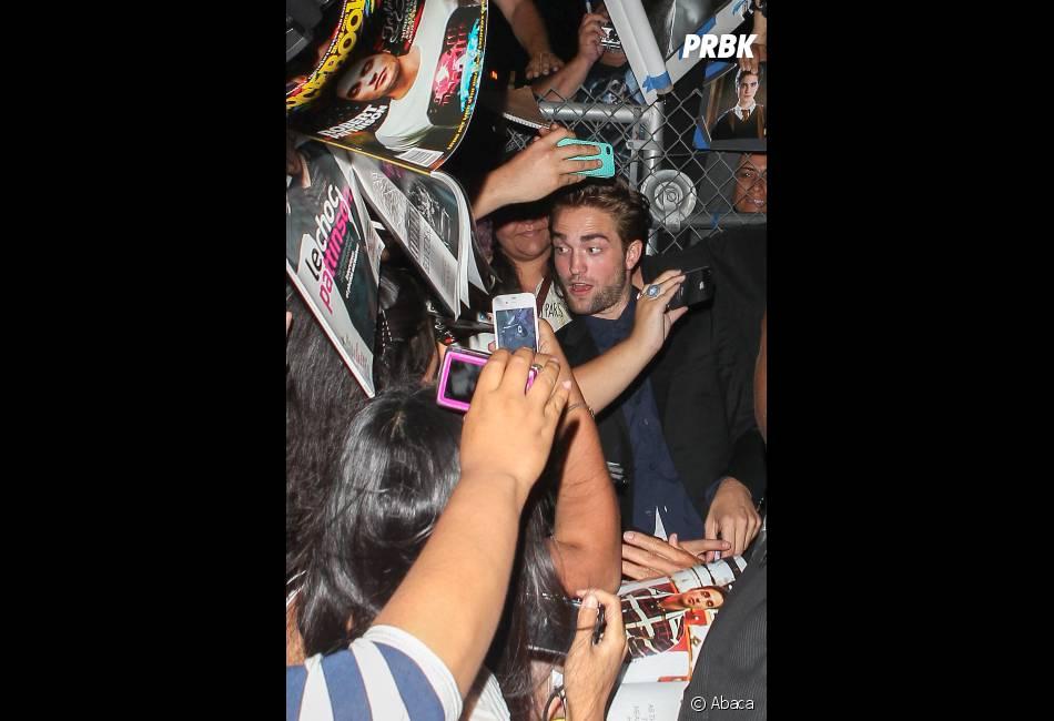 Robert Pattinson ne manque pas de fans !