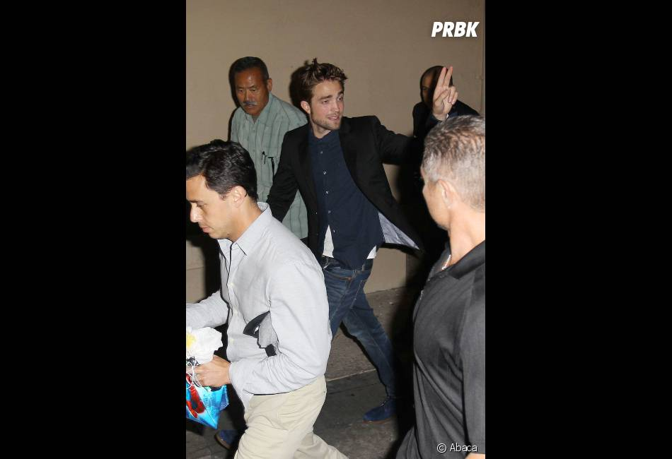 Robert Pattinson, toujours aussi sexy