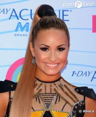 Demi Lovato porte toujours son ex dans son coeur !