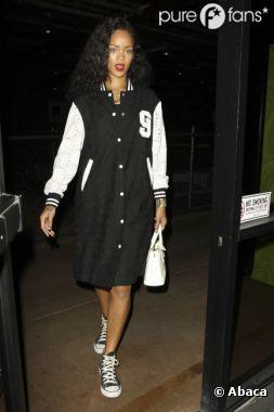 Rihanna lors de sa soirée avec Rob Kardashian