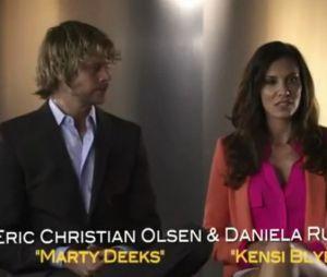 Eric Christian Olsen (Marty) et Daniela Ruah (Kensi) nous livrent leurs impressions sur la saison 4 de NCIS L.A
