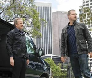 Christophe Lambert et Chris O'Donnell lors du final de la saison 3
