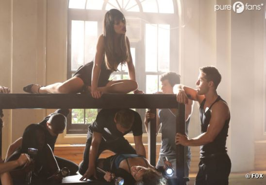 Rachel fait monter la température dans Glee