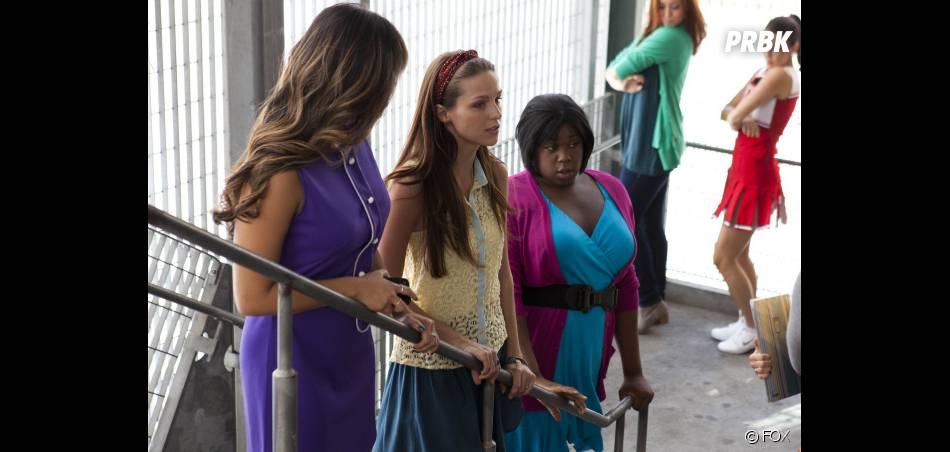 Tina, Marley et Unique dans Glee