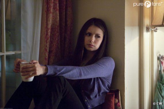 Un épisode sanglant pour Elena dans Vampire Diaries ?