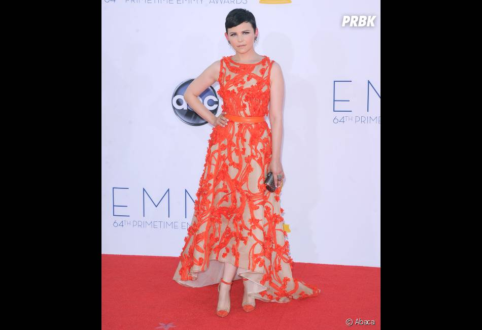 Ginnifer Goodwin a misé sur le orange aux Emmy Awards 2012
