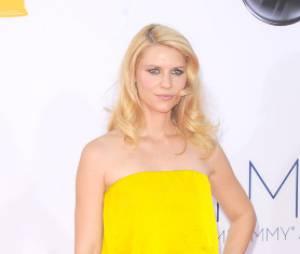 Le jaune a porté chance à Claire Danes aux Emmy Awards 2012