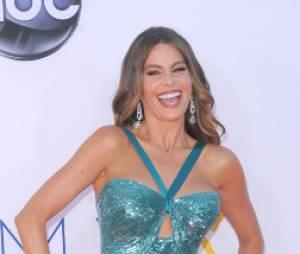 Sofia Vergara étonnante aux Emmy Awards 2012