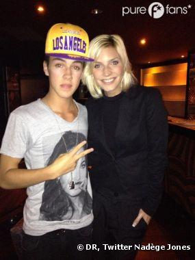 Nadège a rencontré le sosie de Justin Bieber ! C'est déjà ça !