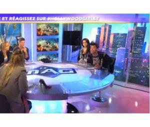 Aurélie et Bruno se clashent sur le plateau d'Hollywood Girls, le mag