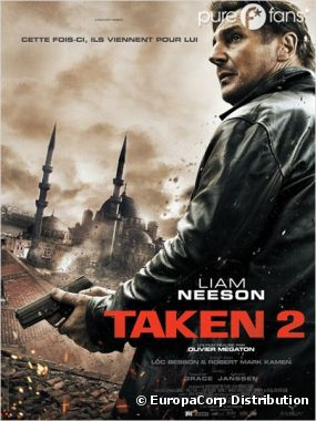Taken 2 s'est classé numéro 1 du box-office US !