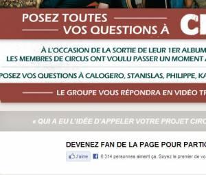 Posez vos questions au groupe sur Facebook