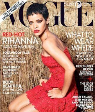 Couverture très sexy de Rihanna pour Vogue