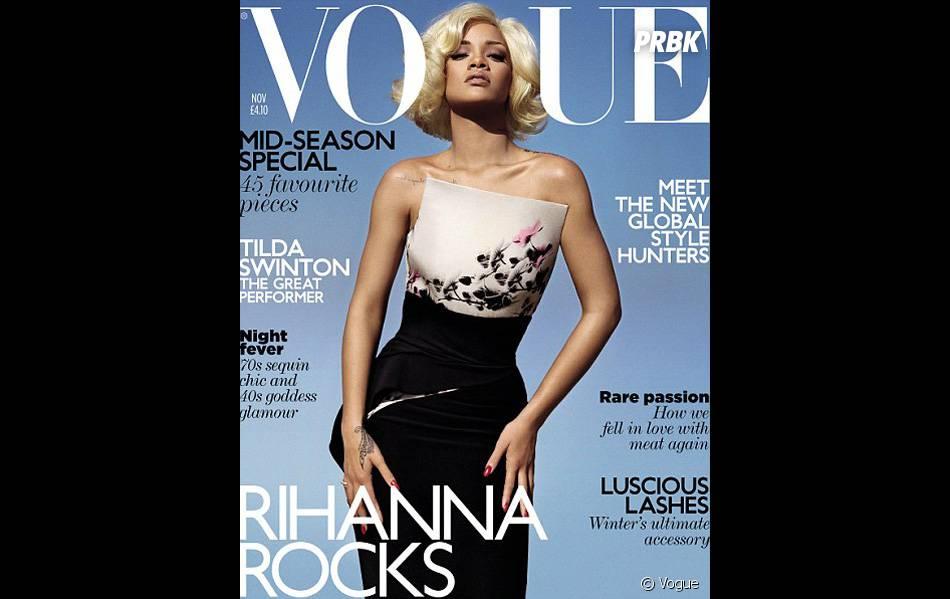 Couverture Anglaise pour le magazine Vogue