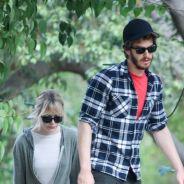 Emma Stone et Andrew Garfield : une balade sportive... et loin d'être glamour ! (PHOTOS)