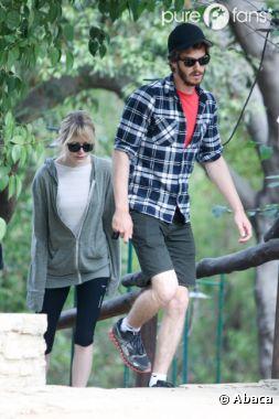 Emma Stone et Andrew Garfield, moins glam' que sur le tapis rouge