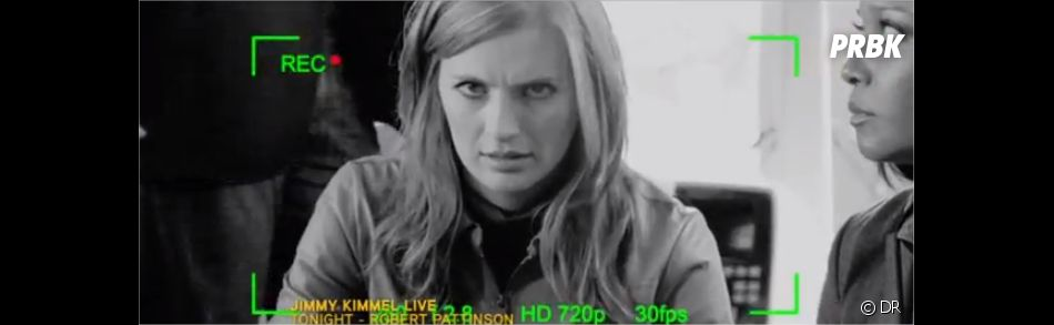 Beckett ne kiffe pas être filmée !