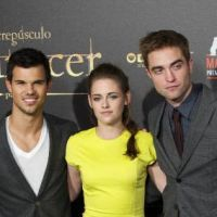 Twilight 4 partie 2 : Robert Pattinson, Kristen Stewart et Taylor Lautner à l'assaut de Madrid ! Olé ! (PHOTOS)