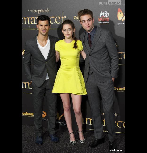 Les acteurs de Twilight à Madrid