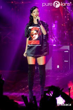 Rihanna, canon au Trianon