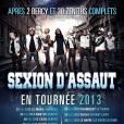 L'affiche de la tournée 2013 de Sexion d'Assaut