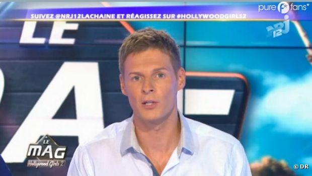 Matthieu Delormeau laisse temporairement sa place dans le Mag de NRJ 12 à Nicolas Touderte !