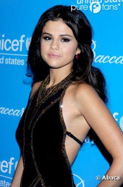 Selena Gomez, canon pour l'UNICEF