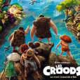 Affiche officielle du film Les Croods
