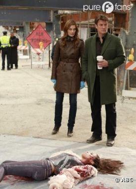 Castle et Beckett dans une enquête particulière