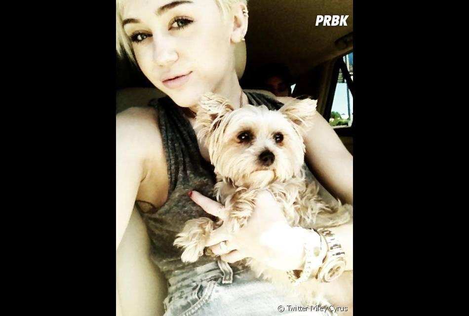 Miley Cyrus retrouve le sourire après la mort de Lila !