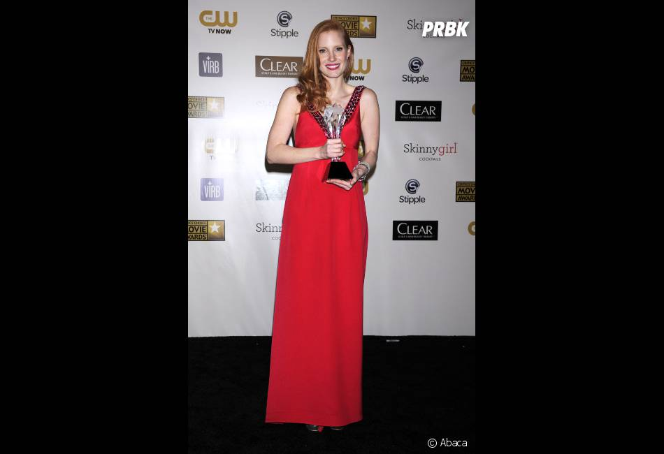JEssica Chastain, Meilleure actrice aux Critics' Choice Awards
