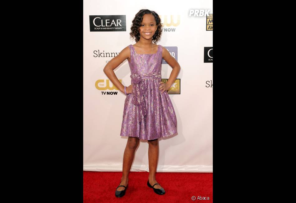 Quvenzhane Wallis, meilleure jeune actrice aux Critics' Choice Awards
