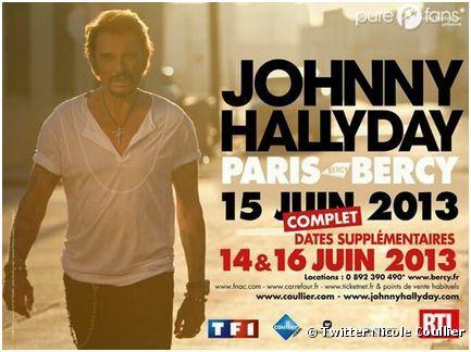 Johnny Hallyday, deux nouvelle dates et une nouvelle affiche