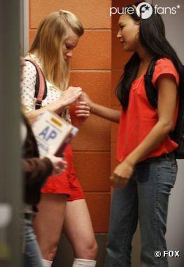 C'est fini pour Santana et Brittany dans Glee