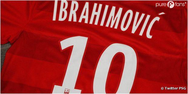 Zlatan Ibrahimovic porte maintenant le numéro 10