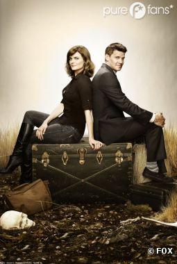 Bientôt une rupture entre Booth et Brennand dans Bones ?
