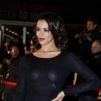 NMA 2013 : tapis rouge so sexy avec Shy'm en robe transparente