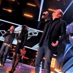 The Voice 2 : Les coachs en mode Jean-Jacques Goldman reprennent Envole-moi en live !