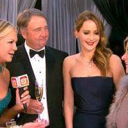 Jennifer Lawrence : une robe déchirée et des parents qui lui foutent la honte !